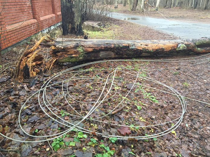 As a result of hurricane in Yekaterinburg killed two people