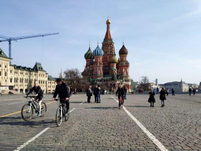 In Moscow — up to 10 degrees Celsius