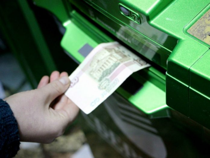 In the Moscow region unknown persons blew up an ATM in the store, took the money and disappeared