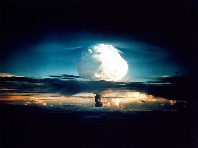 Media: In the U.S. thinking about nuclear test explosion over Russia and China