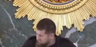 Media: Kadyrov appeared on television with a catheter on hand