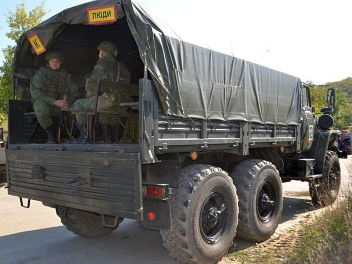 Media reported about the deployment of military equipment on several fronts in the Donbass