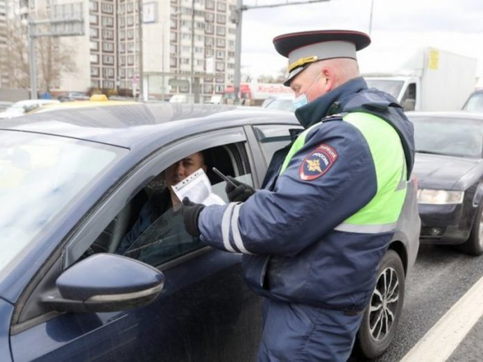 Motorists in the Moscow region, arriving in Moscow will be fined for the lack of a digital pass