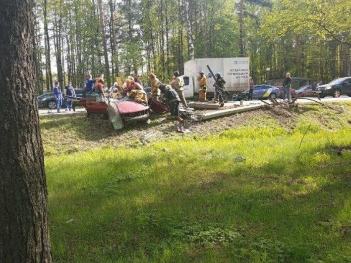 On the seaside highway was a road accident with victims (photo)