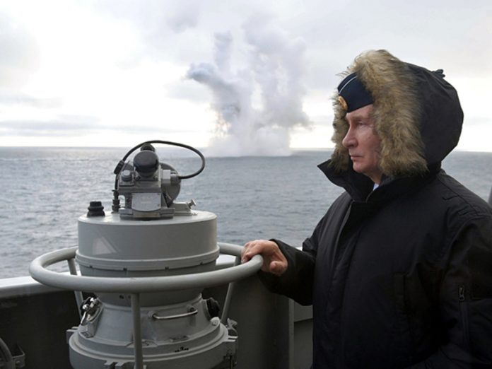 Putin ordered Shoigu to conduct the July 26 parade of the Navy