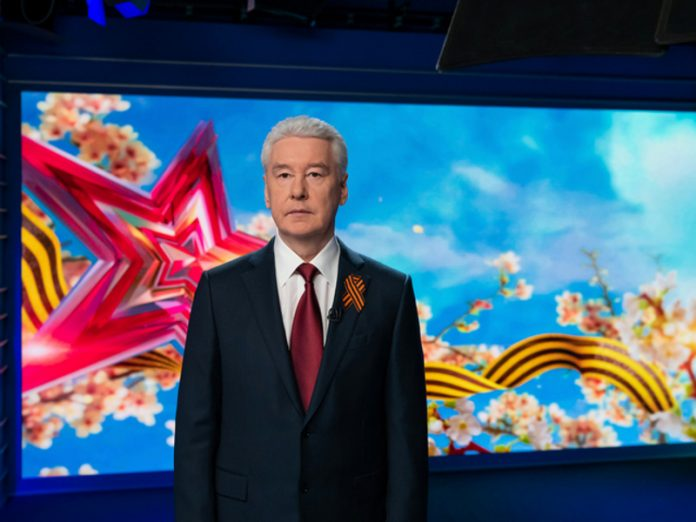 Sobyanin told Putin about the readiness of Moscow for the Victory day parade