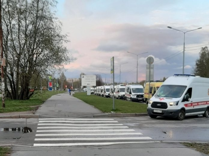 St. Petersburg authorities have announced a restructuring of the ambulance service