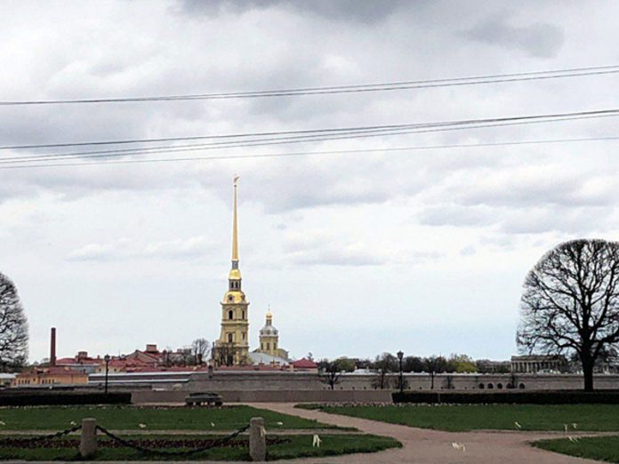 The day of the city of St Petersburg will be fireworks, but no fireworks