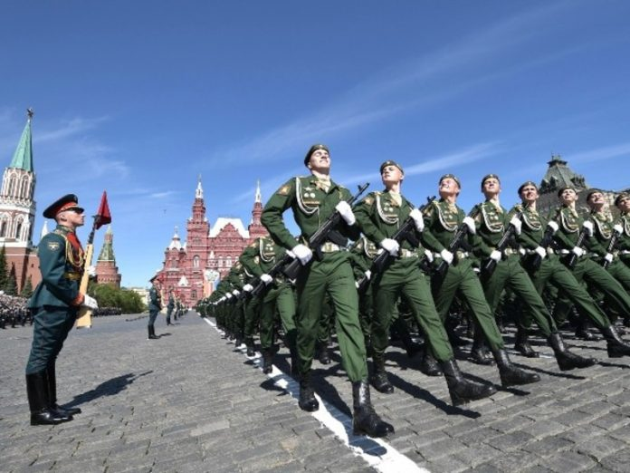 The defense Ministry told about the precautions in the preparation of the Victory parade June 24