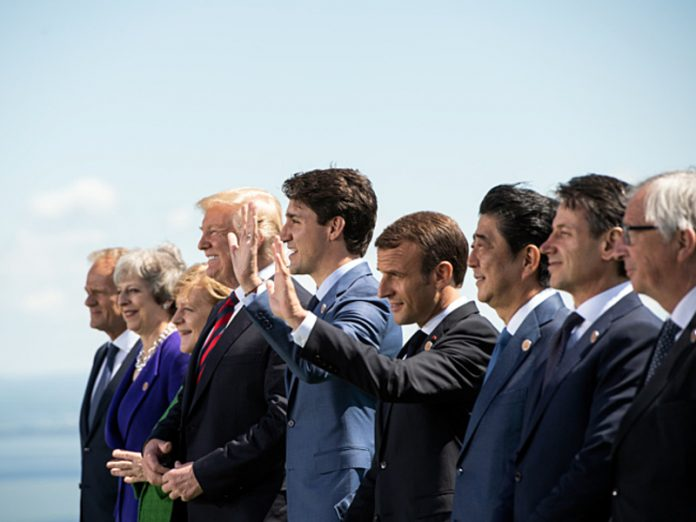 The G7 summit can transfer at the end of June