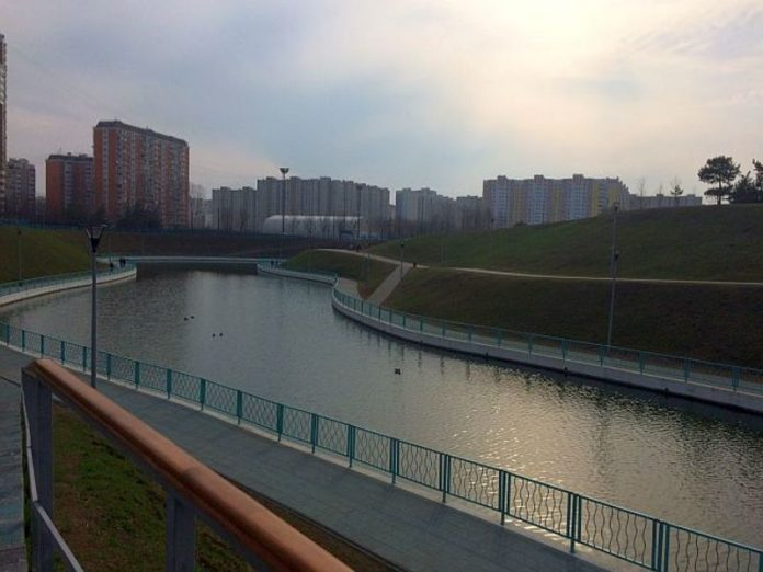 The government of Moscow region open parks