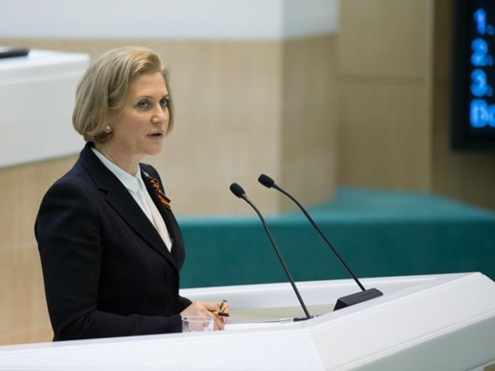 The head of Rospotrebnadzor said, Russia would exit restrictions