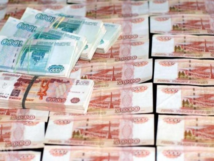 The monetary base growth in Russia accelerated
