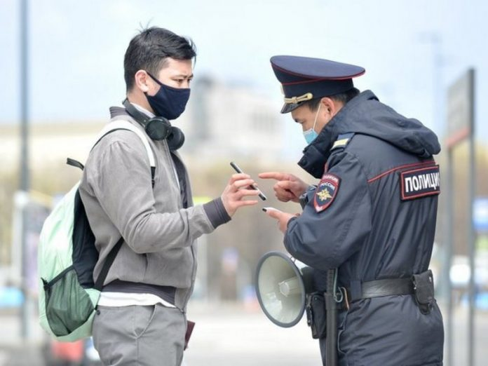 The police told MPs on request, not penalize the citizens of St. Petersburg for the lack of masks on the street