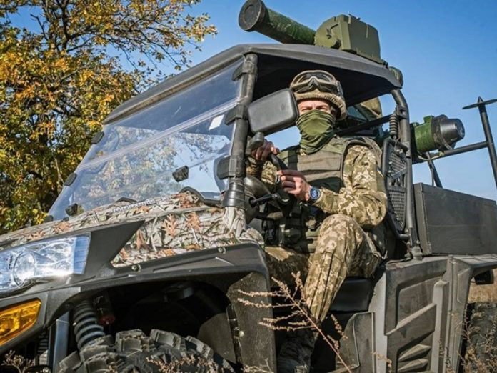 10 in the Donbass Ukrainian military were injured in the explosion the vehicle