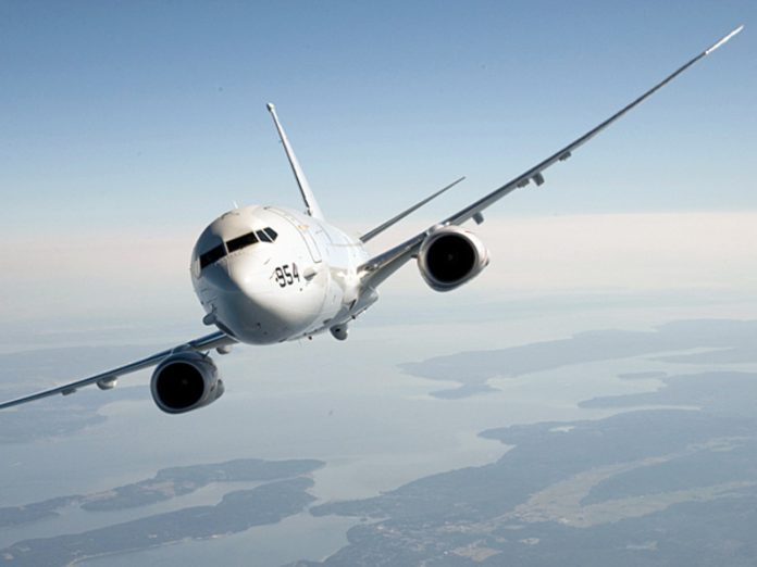 At the borders of the Russian Federation was again flying American spy plane