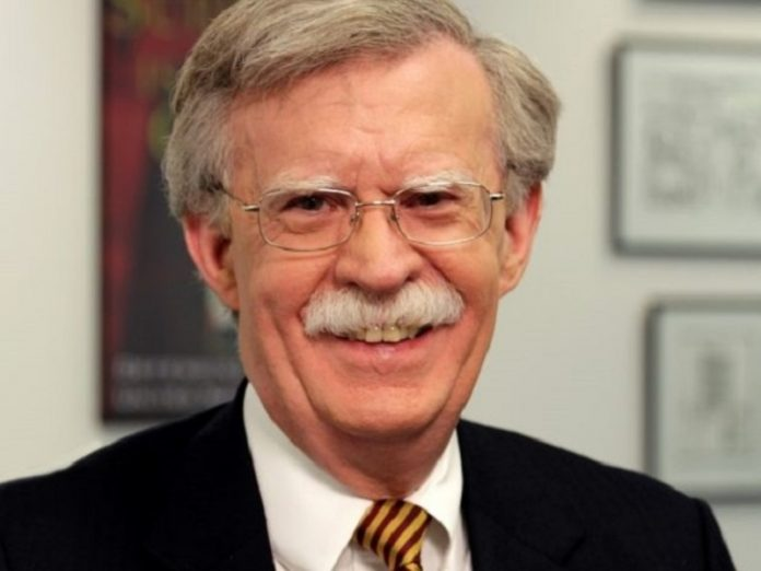 Bolton commented on the reaction of trump's article on