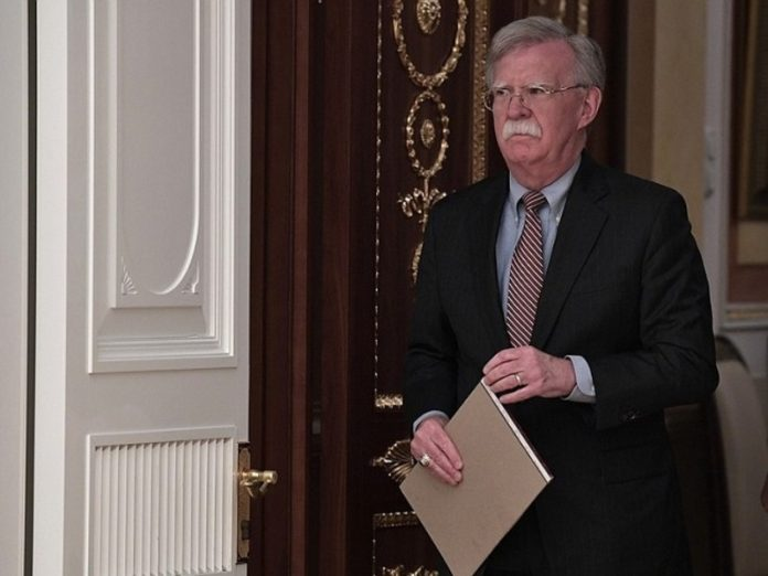 Bolton spoke about possible sanctions against Russia over Syria