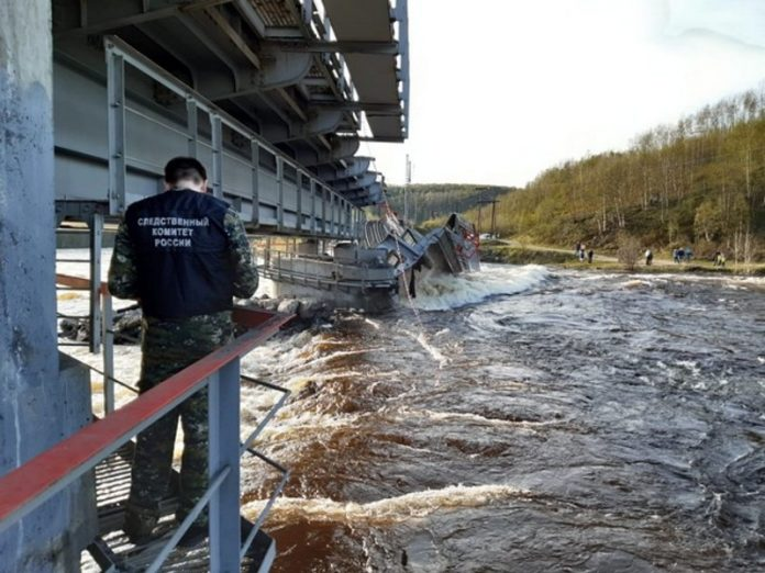 Criminal case about the collapse of the railway bridge in the Murmansk region