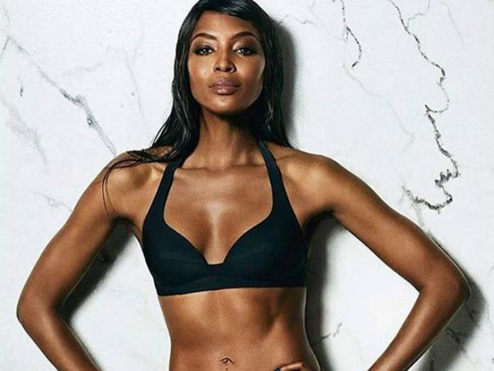 Danish supermodel completely stripped down for a photo session in 51 years, but Naomi Campbell showed his chest (photo)