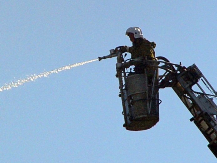 Fire a transformer in the Central district was extinguished five hours