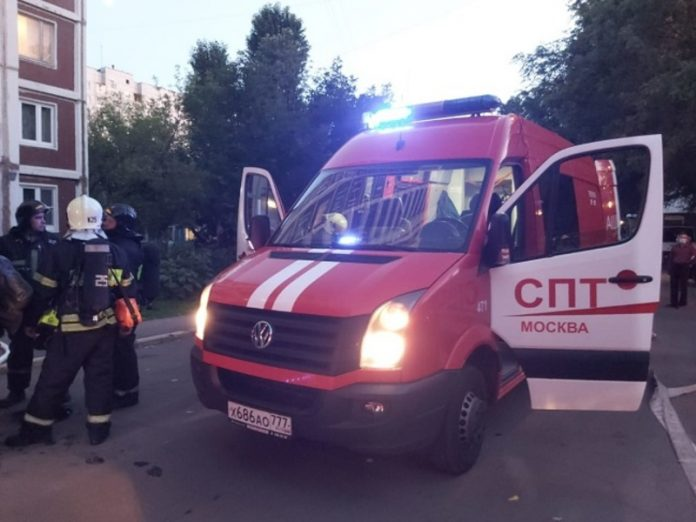 Fire in residential house in the West of Moscow claimed the lives of two people