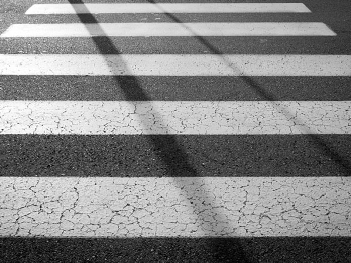 In Kolpino on the crosswalk car knocked down two women and four children