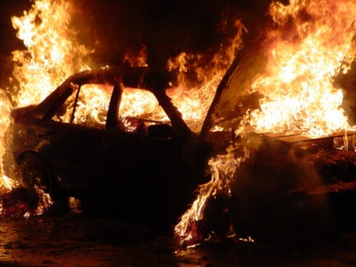 In Kurgan arrested the arsonist car at 18 million rubles