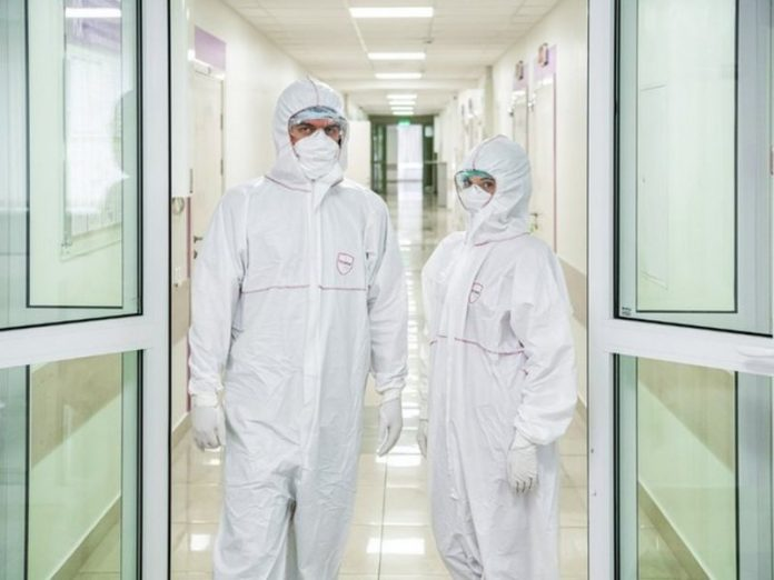 In Moscow the day he died 53 patients with coronavirus