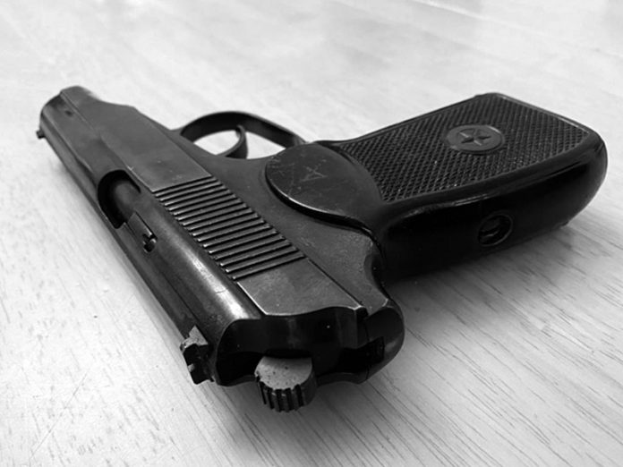 In Moscow the drunk man frightened passers-by a toy gun