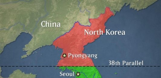 """In North Korea called South Korea an """"enemy"""" and threatened to sever relations"""