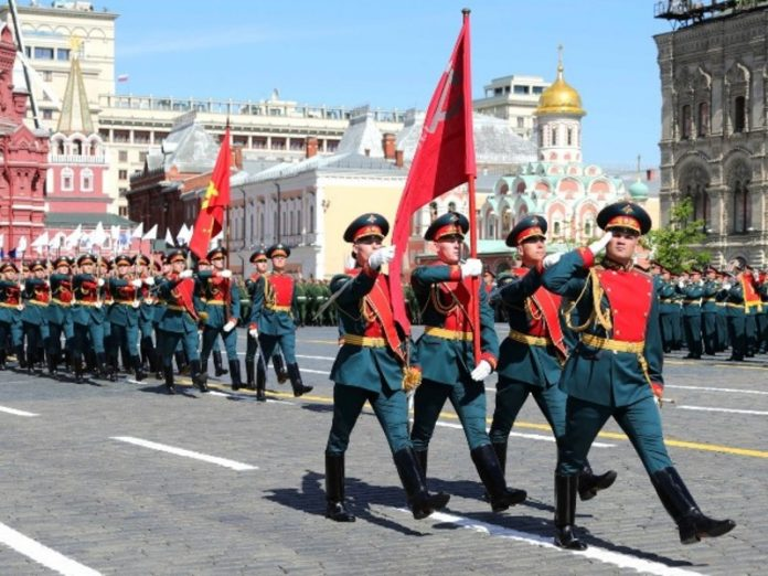 In Russian cities are the Victory parades