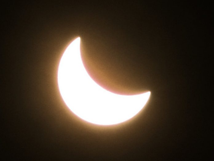 In several regions of Russia observed a rare solar Eclipse (photos)