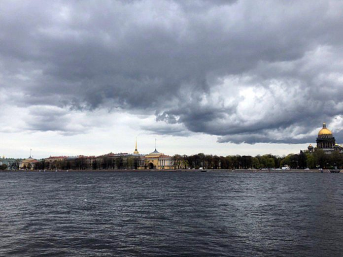 In St. Petersburg — up to 27 degrees Celsius