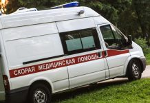 In St. Petersburg, injured in a traffic accident 11-year-old child