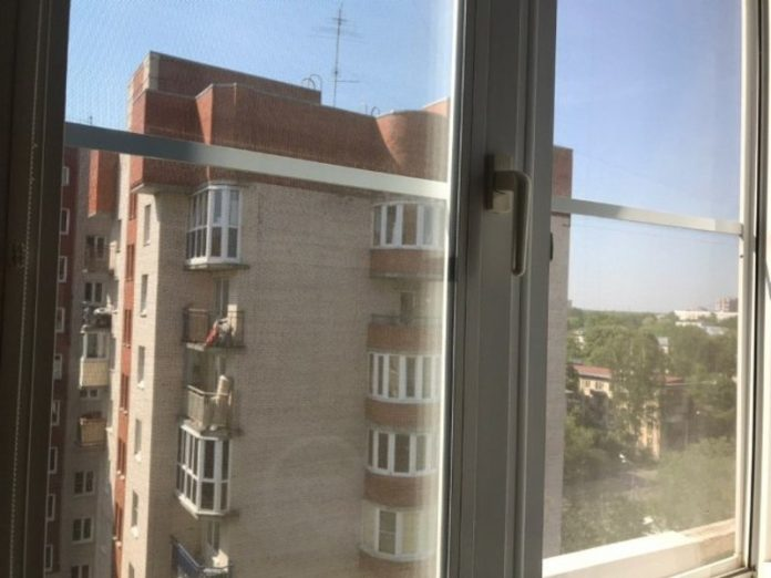 In Tambov three-year-old patient fell from a hospital window and was in intensive care