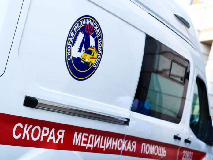 In the Nevsky district, a car hit a boy on a scooter
