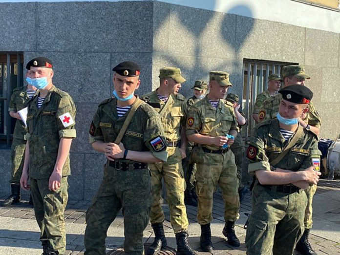 In Veliky Novgorod cancelled military parade in the city centre