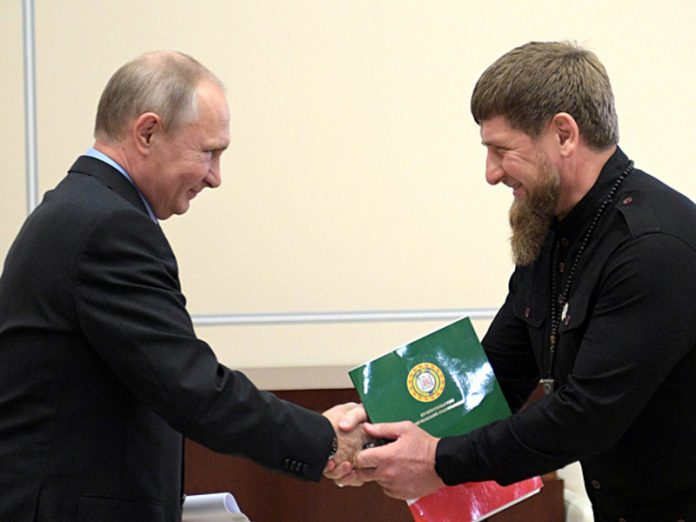 Kadyrov called on the Russians to vote for Putin