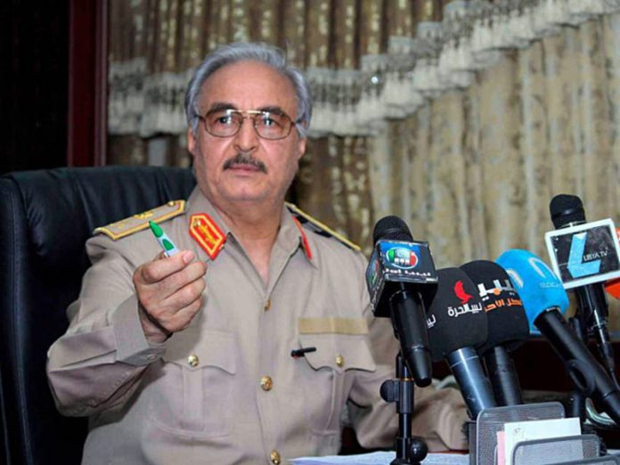 Media: In Libya found the oven in which the Haftarot rebels