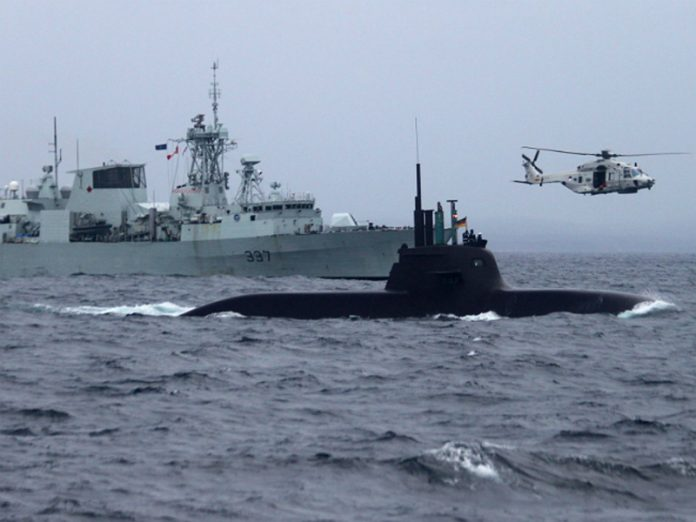 NATO has launched large-scale exercises in the North Atlantic