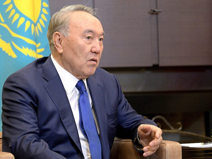 Nazarbayev had contracted the coronavirus, and left on the remote control