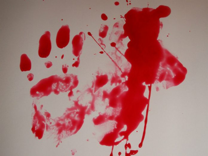 Near Saratov the man has slit the throat of his own son