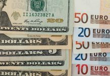Official rates of dollar and Euro increased sharply