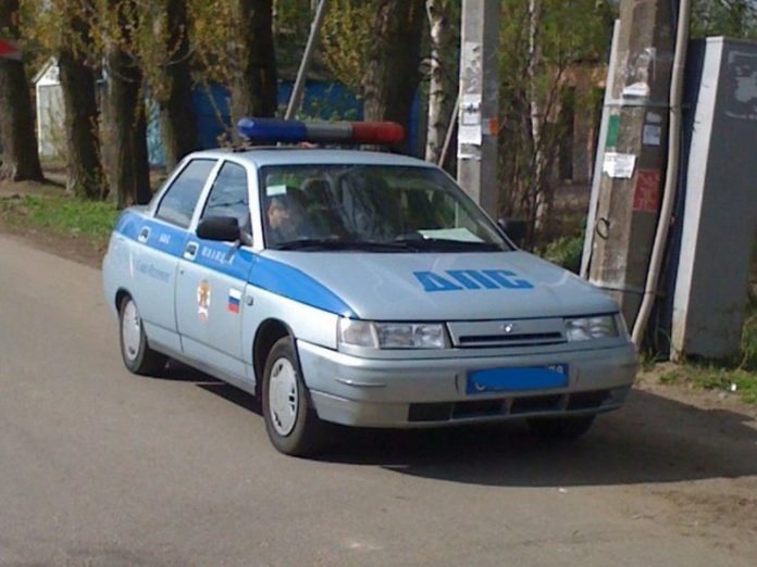 On Kuban the court arrested on 13 of day the girl ran at the patrol car during the party
