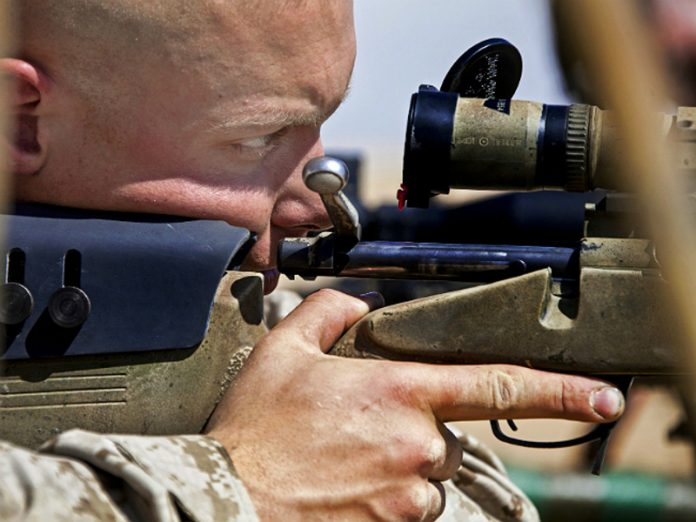 On the plot breeding forces in the Donbass, the sniper destroyed the camera of the OSCE mission