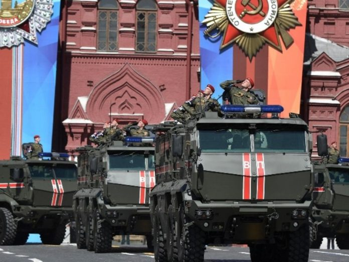 On the red square in Moscow began the Victory parade