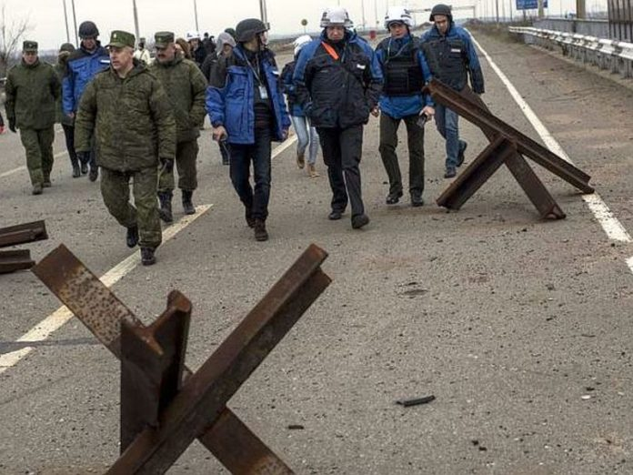 OSCE: Russia secretly transferred to the Donbass military with tanks and APCS