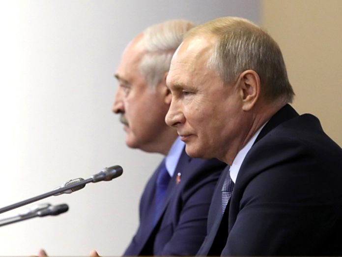 Peskov said that Putin and Lukashenko will get a chance to chat separately