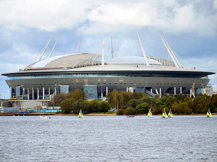 Petersburg will host the final of the Champions League in 2022